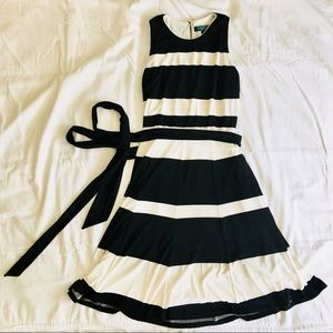 LAUREN RALPH LAUREN Classic Striped Dress